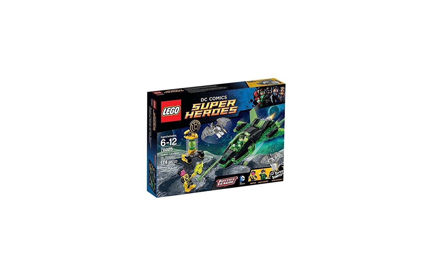 Конструктор Lego 76025 Супер герои Зеленый Фонарь против Синестро