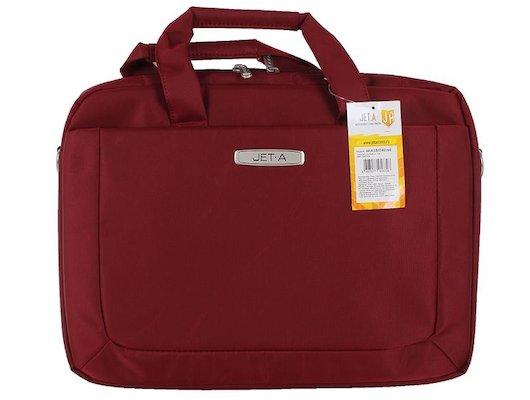 Кейс для ноутбука Jet.A LB15-62 до 15,6 (Красный , качественный нейлон/полиэстер, современный дизайн, SIZE 415x60x310м