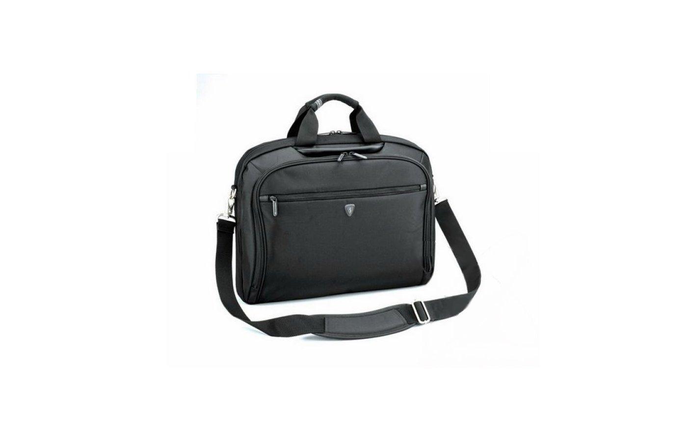 Кейс для ноутбука Sumdex PON-352BK Impulse Notebook Brief до 15,6 (нейлон/полиэстер, черный, 41.9x32.4x10.2 см)
