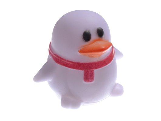 Декоративный светильник 920-027 Светильник-ночник 6.5х6.5х5.5см 1LED-многоцвет белый пластик Пингвин
