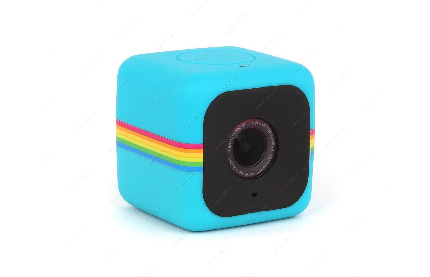 Экшн-камера Polaroid Cube синий