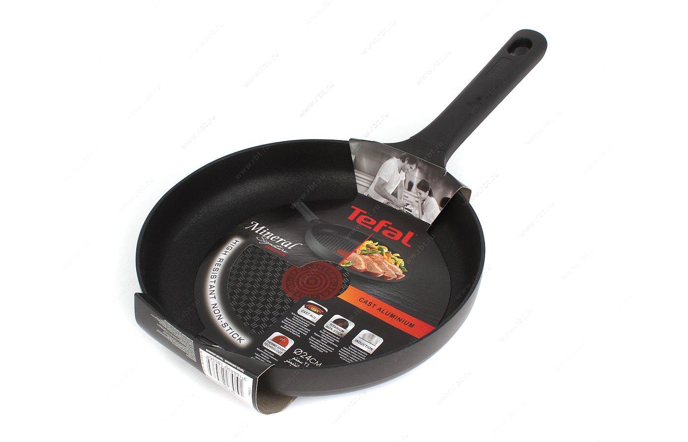 Сковорода TEFAL C7530454 Сковорода 24 Mineral
