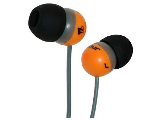 Наушники вкладыши Fischer Audio JB Four желтый/серый