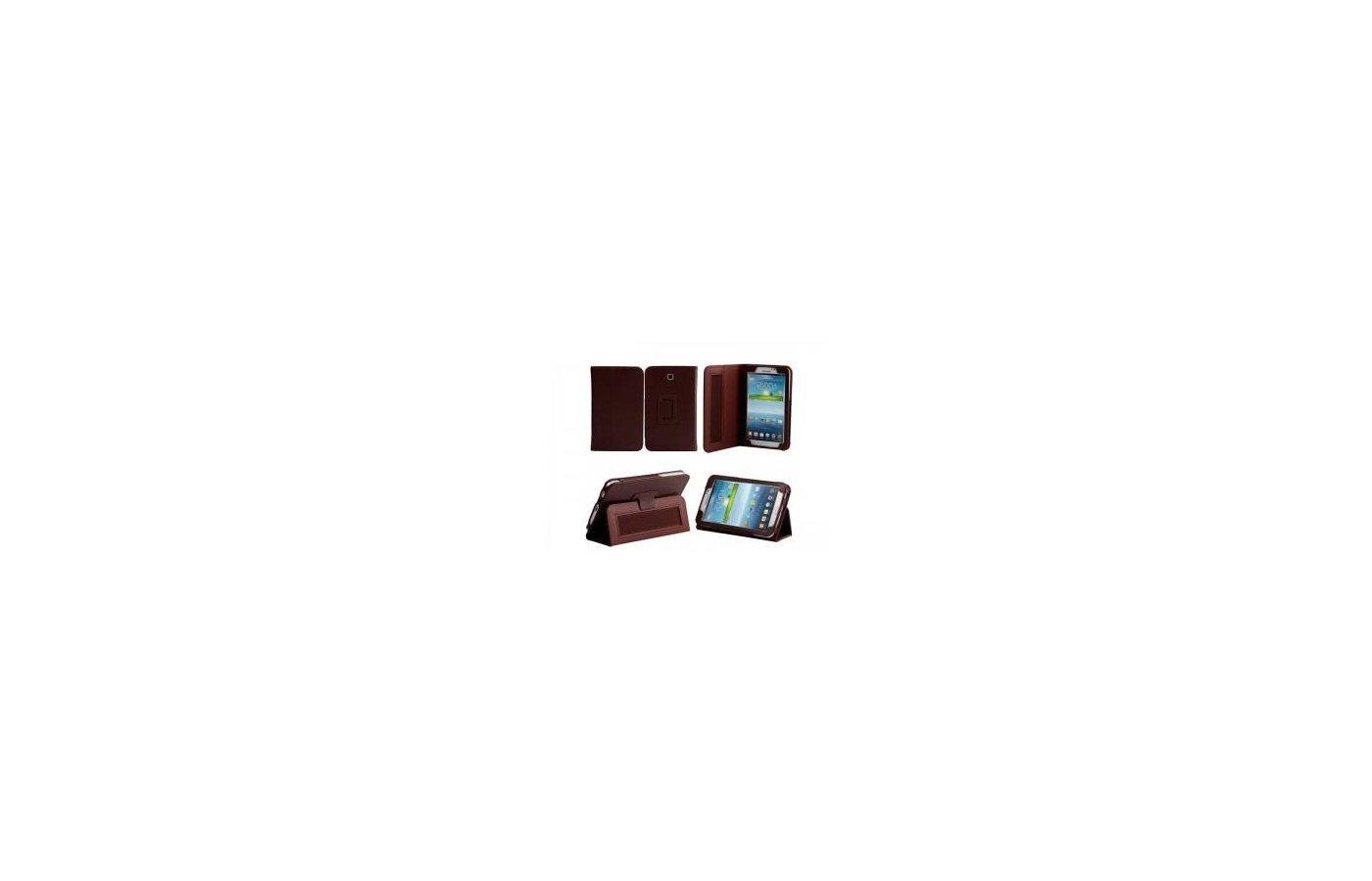 Чехол для планшетного ПК IT BAGGAGE для SAMSUNG Galaxy Tab4 7.0 искус. кожа коричневый ITSSGT7402-2