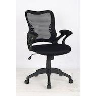 Фото College Кресло офисное HLC-0758F Черный, сетчатый акрил, 120 кг, подлок. с мягк. накладками, высота