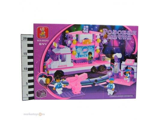Конструктор SLUBAN 38-0253МВ Розовая мечта