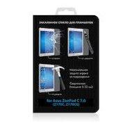 Фото Защитная пленка DF Стекло для Samsung Galaxy Tab E 9.6 sSteel-30