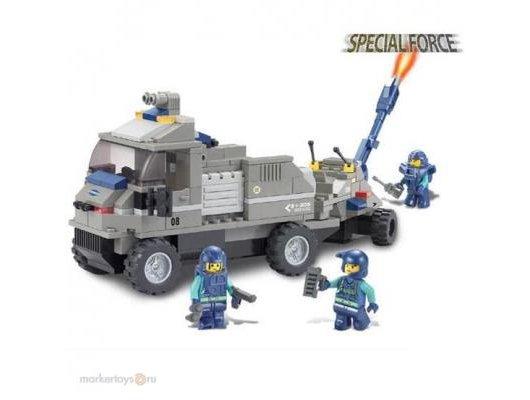Конструктор SLUBAN 38-0200 Военная машина