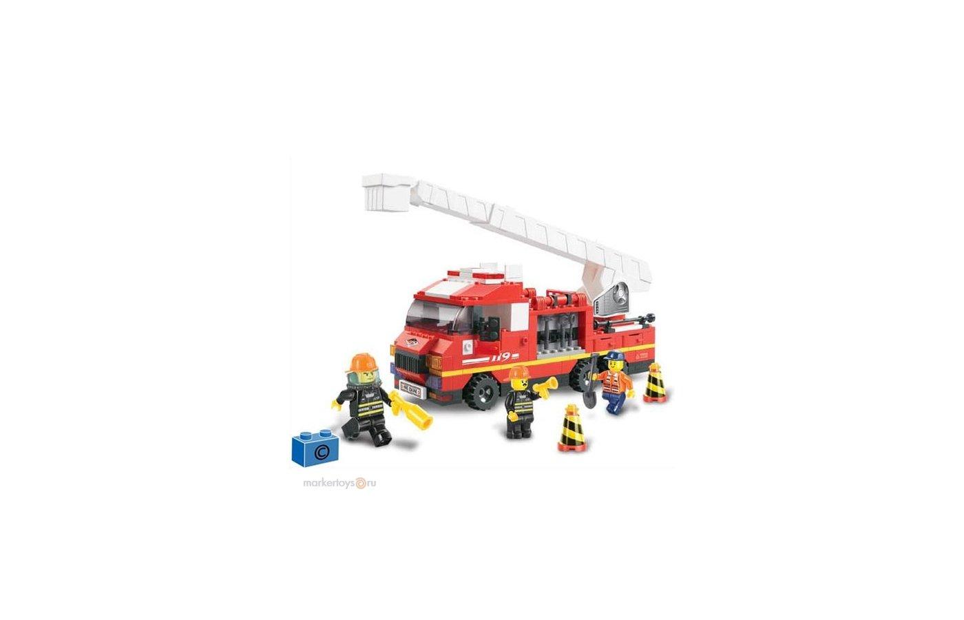 Конструктор SLUBAN 38-0221 Пожарная служба