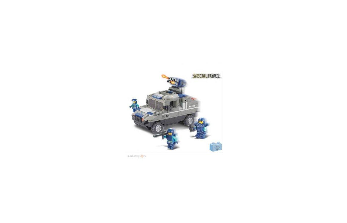 Конструктор SLUBAN 38-0203МВ Военная техника