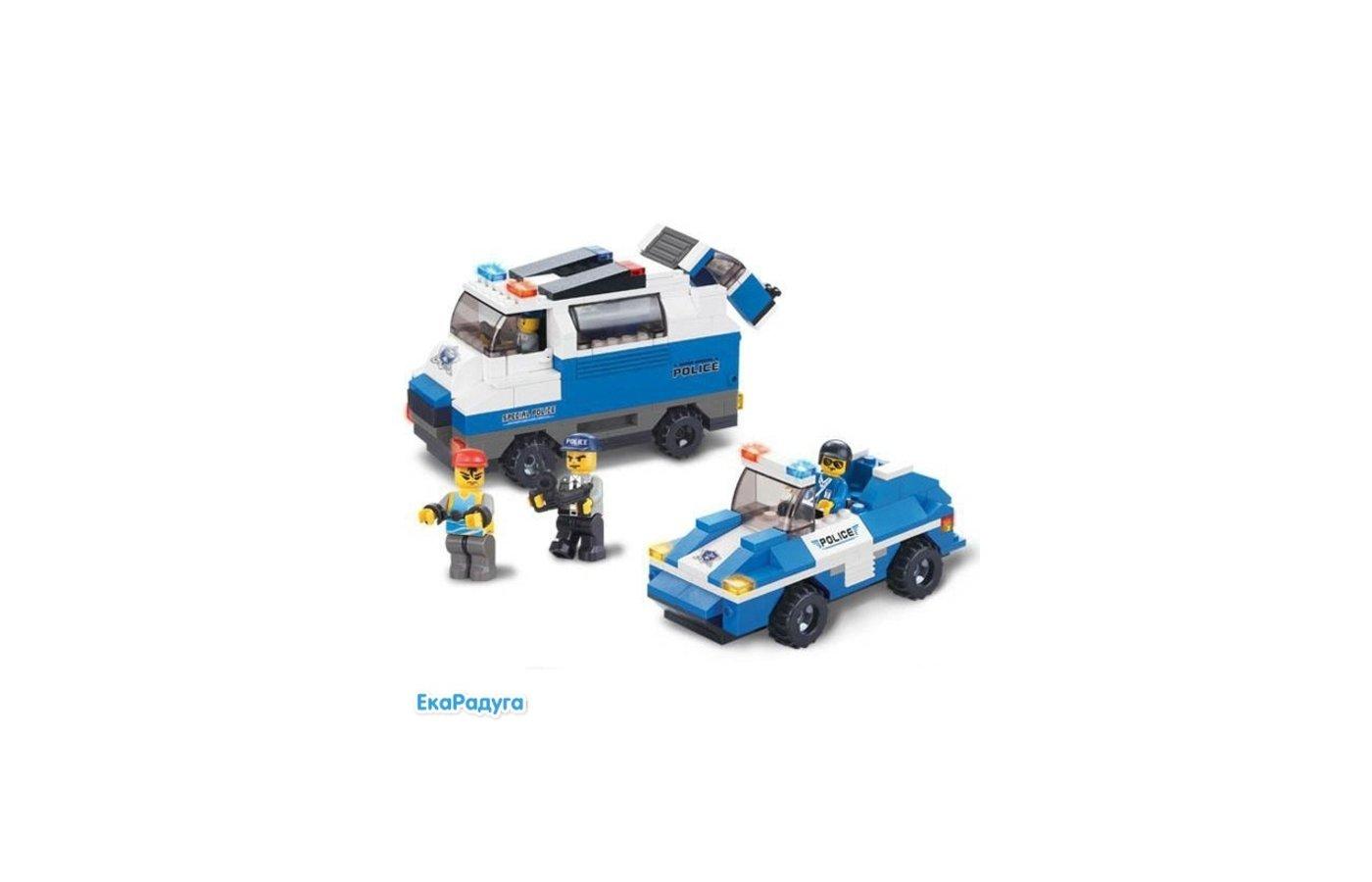 Конструктор SLUBAN 38-0189МВ Полиция
