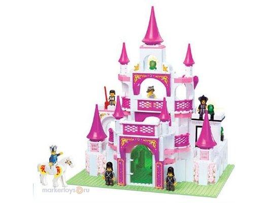 Конструктор SLUBAN 38-0151 Замок для девочек