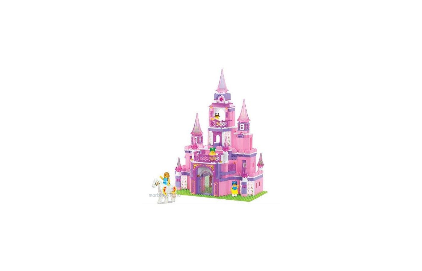 Конструктор SLUBAN 38-0152 Замок для девочек