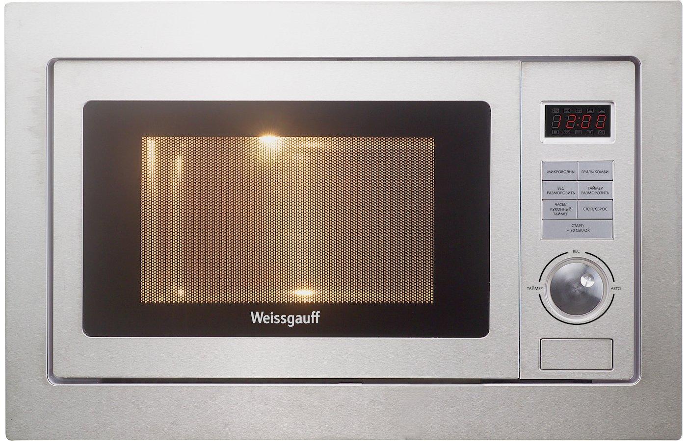 Встраиваемая микроволновая печь WEISSGAUFF HMT-555