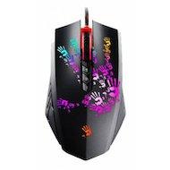 Мышь проводная A4Tech Bloody A6 Blazing черный оптическая (4000dpi) USB2.0 игровая (7but)