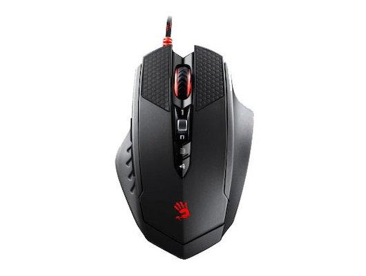 Мышь проводная A4Tech Bloody T7 Winner черный/серый оптическая (4000dpi) USB2.0 игровая (8but)