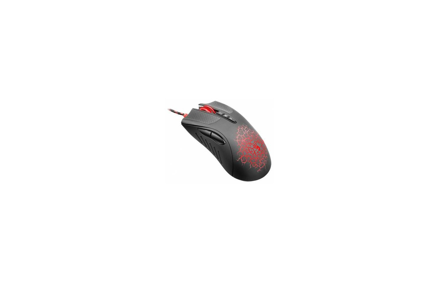 Мышь проводная A4Tech Bloody Blazing AL9 Black USB
