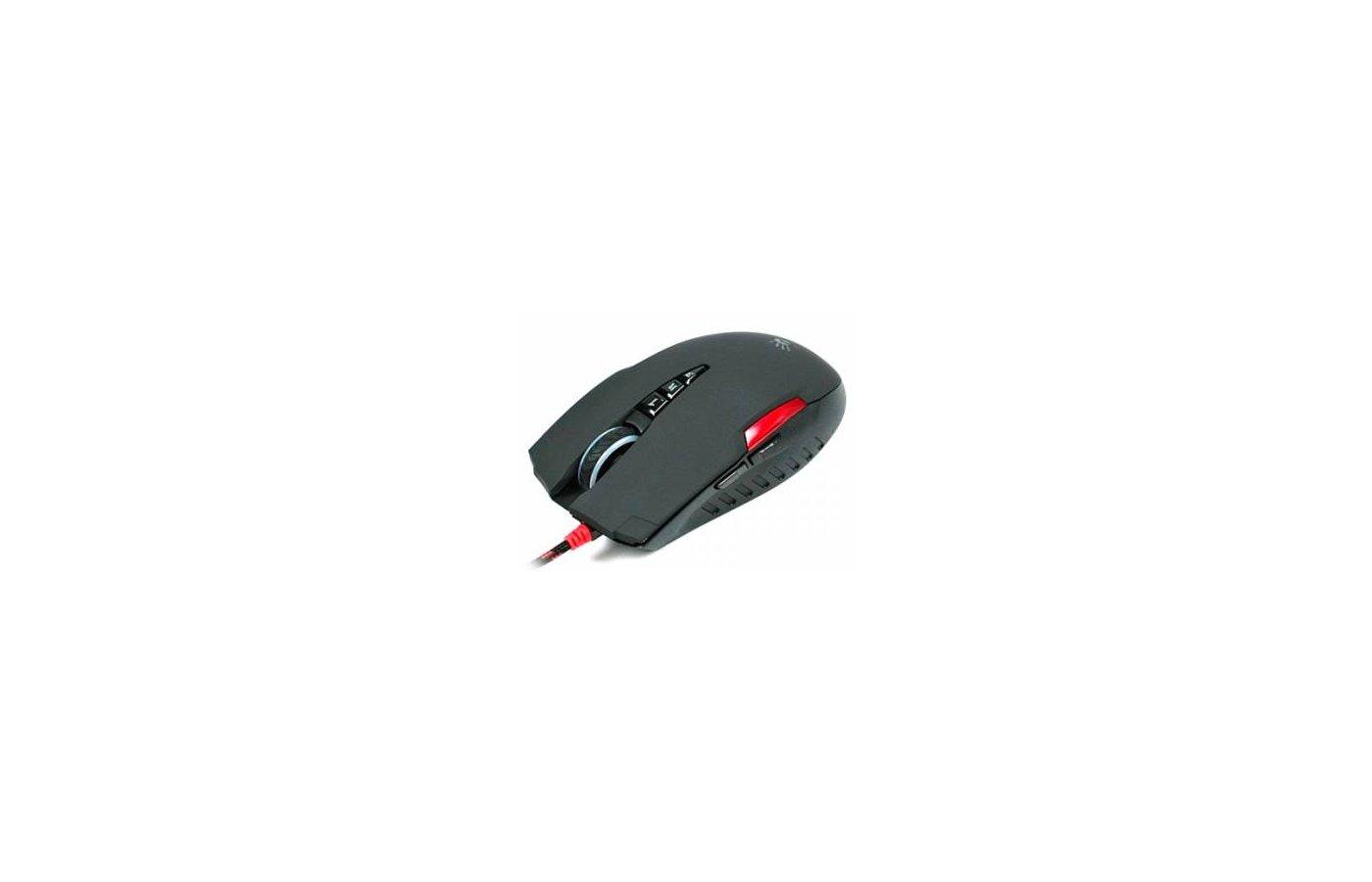 Мышь проводная A4Tech Bloody V3 черный оптическая (3200dpi) USB игровая (7but)