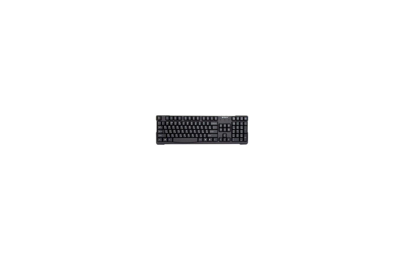 Клавиатура проводная A4Tech KR-750 черный USB