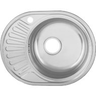 "Кухонная мойка UKINOX 117/FAP577.447-GT6K 2L Фаворит матовая левая 3,5"""