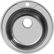 """Кухонная мойка UKINOX 125/FAM510-GT5K 0C Фаворит матовая 3,5"""""""