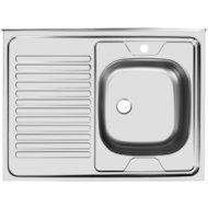 "Кухонная мойка UKINOX STD800.600-5C 0L Стандарт накладная левая 1,5"""