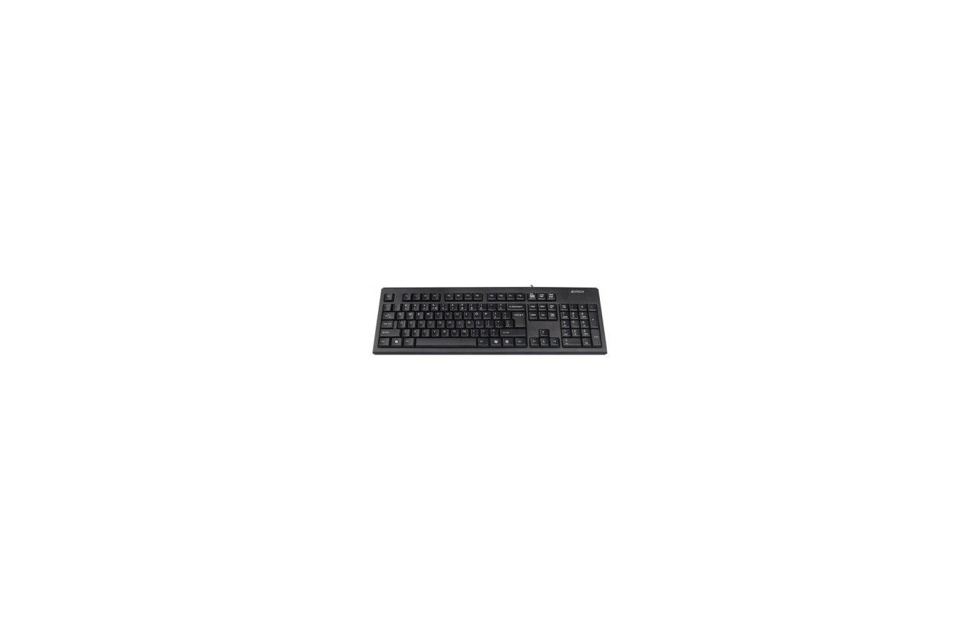 Клавиатура проводная A4Tech KR-83 черный USB