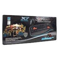 Фото Клавиатура проводная A4Tech X7-G600 черный PS/2 Gamer (подставка для запястий)