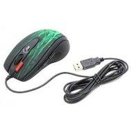 Фото Мышь проводная A4Tech XL-750BK зеленый/черный лазерная (3600dpi) USB2.0 игровая (6but)