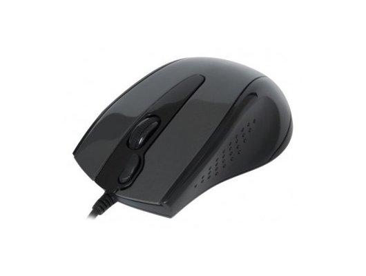 Мышь проводная A4Tech V-Track Padless N-500F черный оптическая (1000dpi) USB (3but)