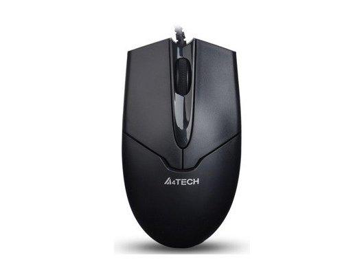 Мышь проводная A4Tech V-Track Padless OP-550NU черный оптическая (1000dpi) USB (2but)