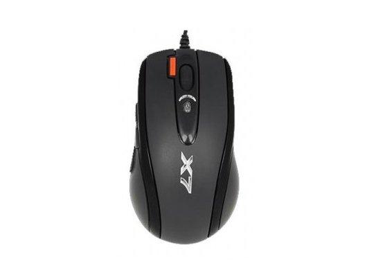 Мышь проводная A4Tech XL-750BK черный лазерная (3600dpi) USB2.0 игровая (6but)