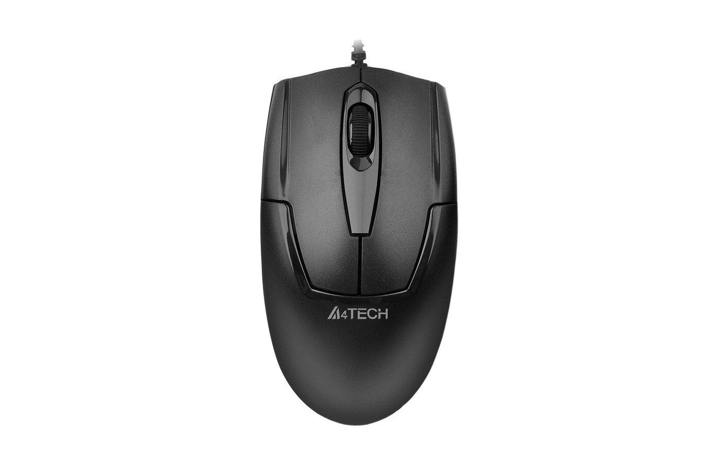 Мышь проводная A4Tech V-Track Padless OP-540NU черный оптическая (1000dpi) USB (2but)