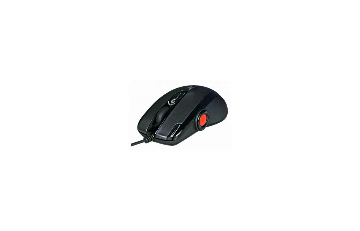 Мышь проводная A4Tech X-755BK черный оптическая (2000dpi) USB игровая (9but)