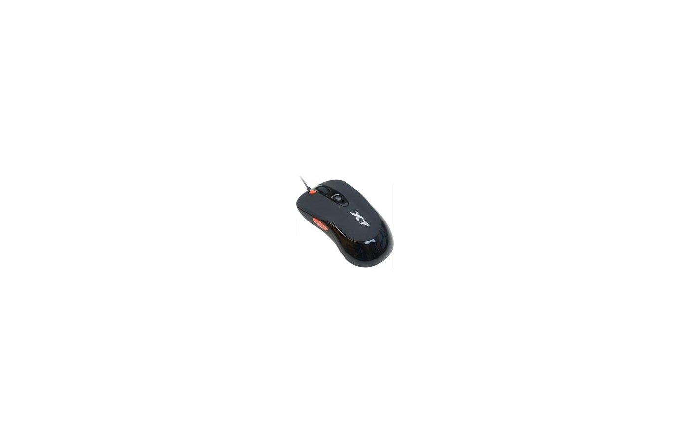 Мышь проводная A4Tech X-705K черный