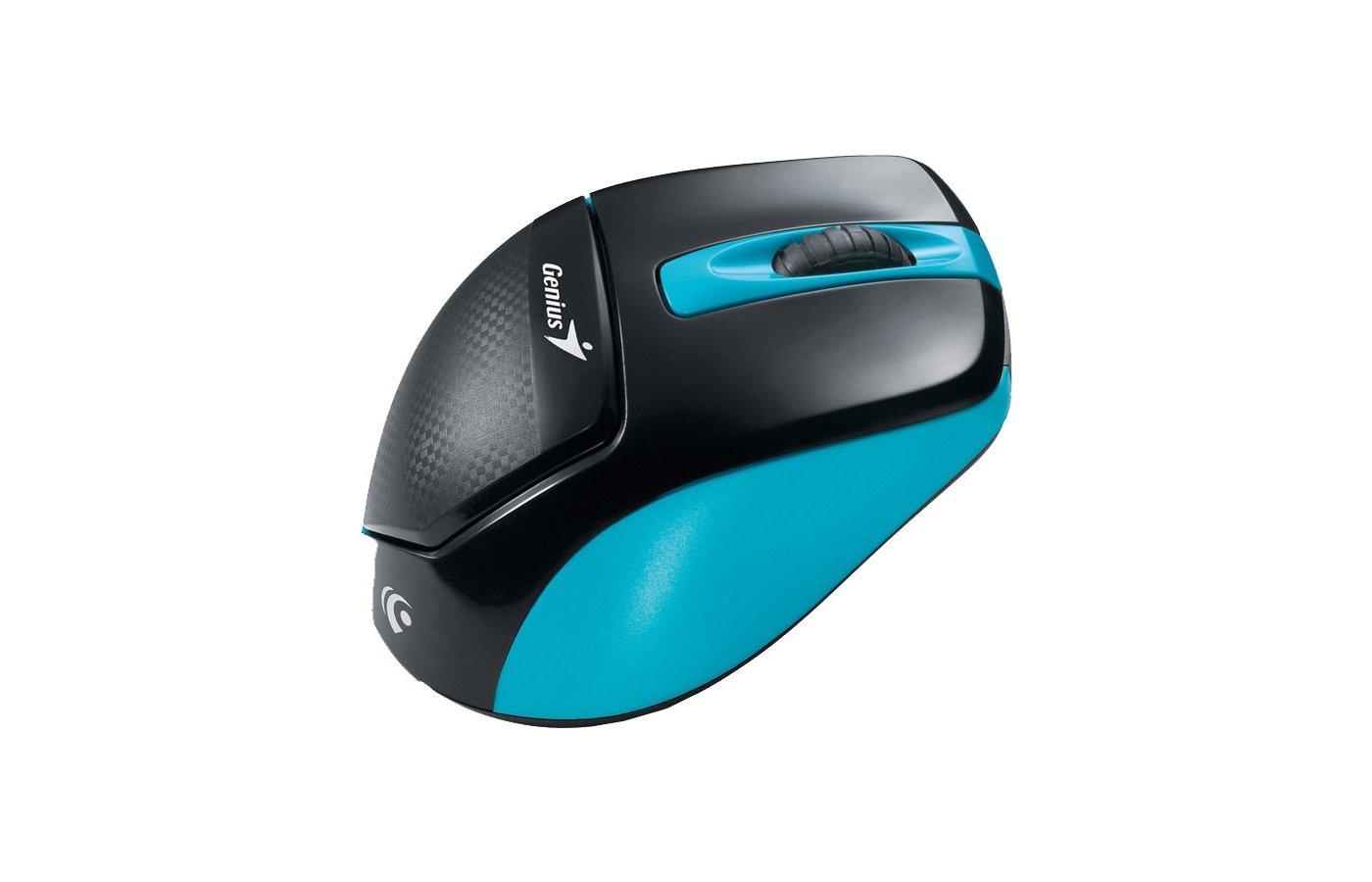Мышь беспроводная Genius DX-7000X синий/черный