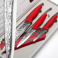 Фото Набор ножей Mayer Boch 24140 3пр+магнит