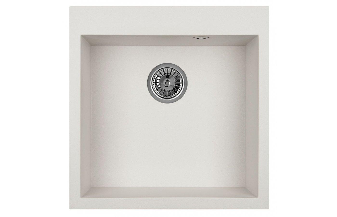 Кухонная мойка Weissgauff QUADRO 505 Eco Granit серый шелк