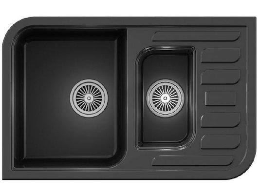 Кухонная мойка Weissgauff SOFTLINE 780 Eco Granit бежевый