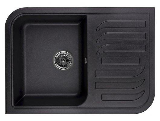 Кухонная мойка Weissgauff SOFTLINE 695 Eco Granit светло-бежевый