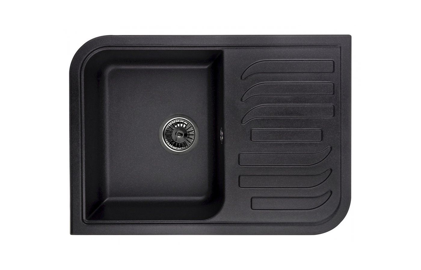 Кухонная мойка Weissgauff SOFTLINE 695 Eco Granit серый беж