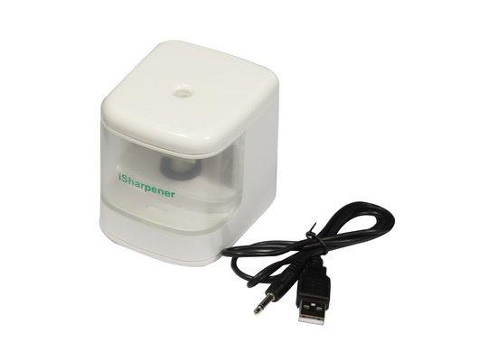 Isharpener Точилка для карандашей  USB,белый