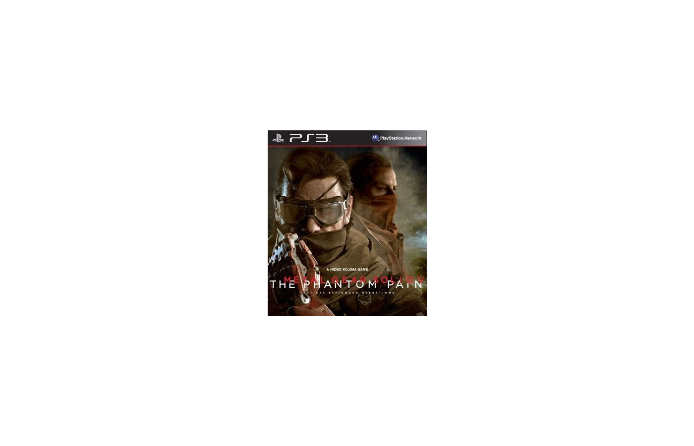 Metal Gear Solid V: The Phantom Pain (PS3 русские субтитры)
