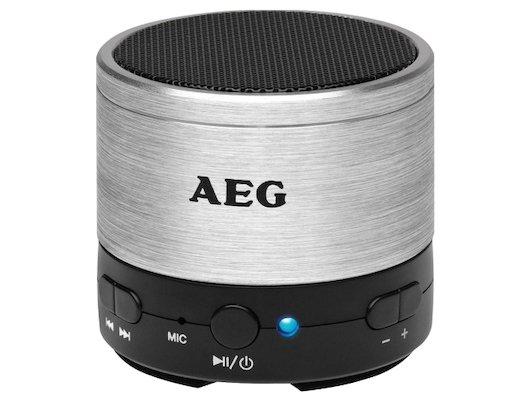 Колонка AEG BSS 4826 серебрянный