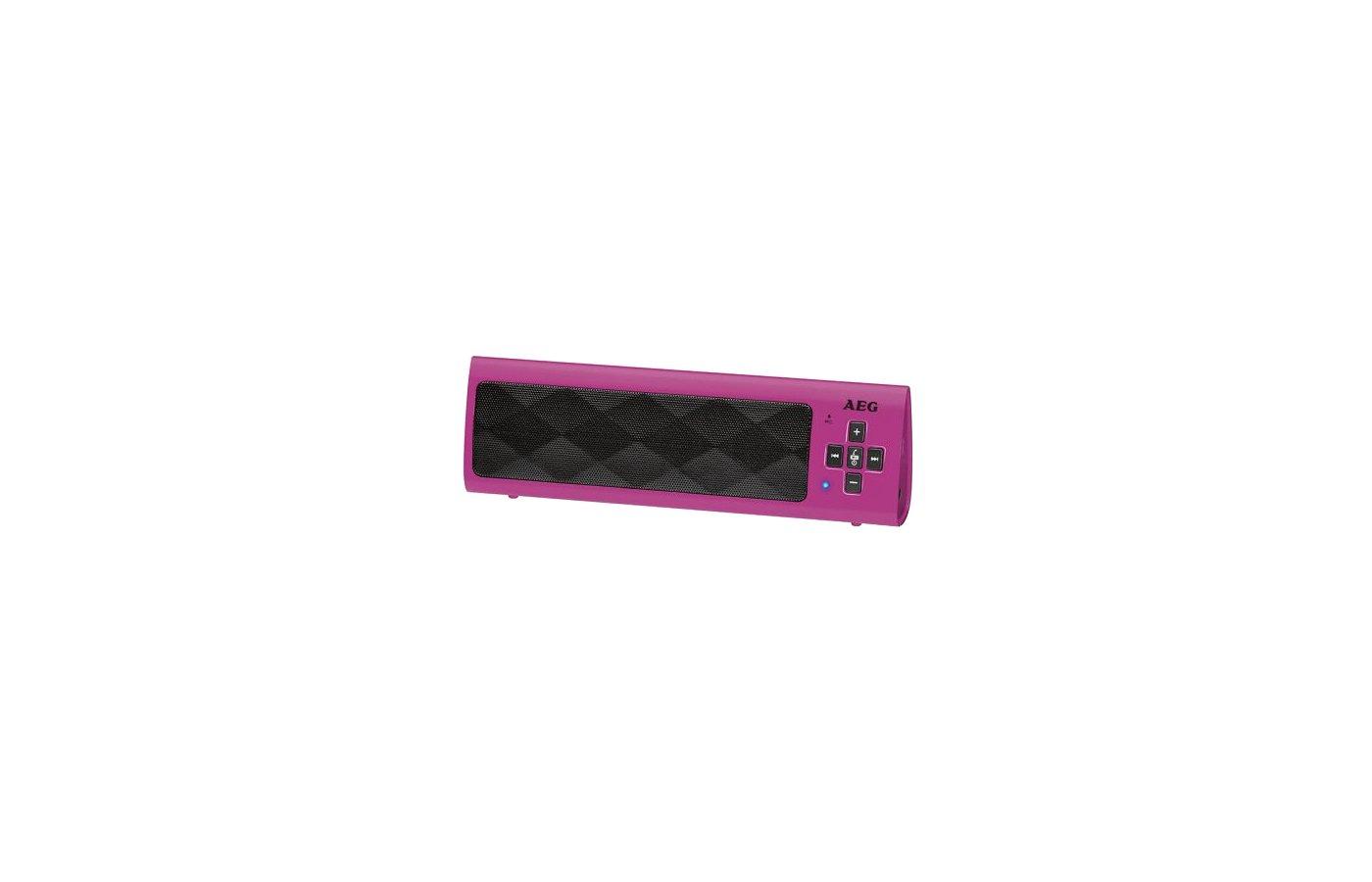 Колонка AEG BSS 4818 розовый