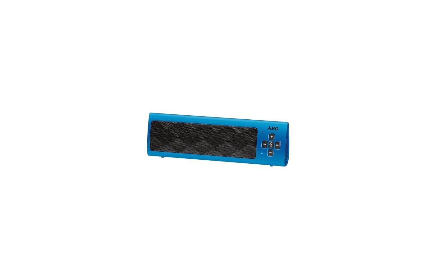 Колонка AEG BSS 4818 синий