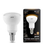 Фото Лампочки LED Gauss LED Reflector R50 E14 6W 2700K 1/10/50