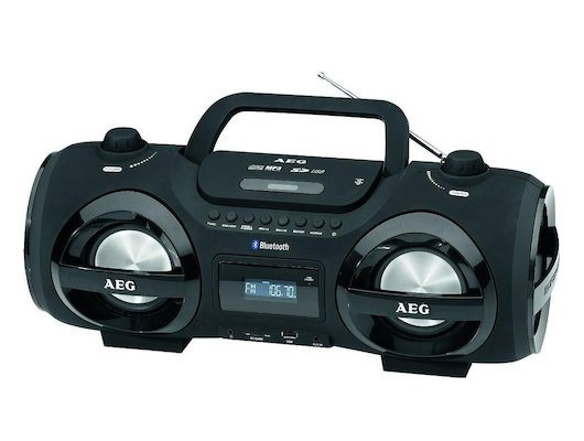 Магнитола AEG SR 4359BT черный