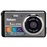 Фотоаппарат компактный Rekam iLook S950i темно-серый