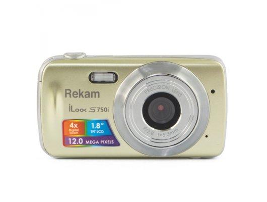 Фотоаппарат компактный Rekam iLook S750i шампань